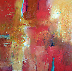 Salsa by Filomena Booth (Acrylic Painting)