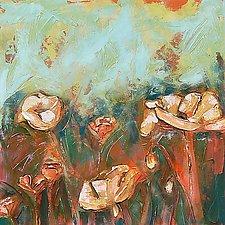 Poppy Medley II by Denise Souza Finney (Acrylic Painting)