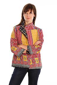 Short Jacket #3 by Mieko Mintz  (Size S (2-8), One of a Kind Jacket)