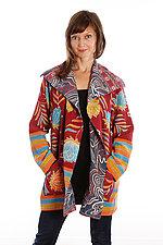Pocket Jacket #2 by Mieko Mintz  (One Size (2-14), One of a KInd Jacket)