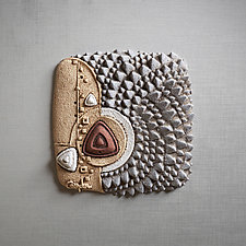 Geomagnatism by Christopher Gryder (Ceramic Wall Sculpture)