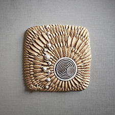 Fluxion by Christopher Gryder (Ceramic Wall Sculpture)