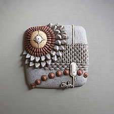 Shear Wave by Christopher Gryder (Ceramic Wall Sculpture)