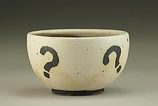 Mystery Bowl by Nathan  Falter (Ceramic Bowl)