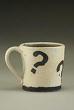Mystery Mug by Nathan  Falter (Ceramic Mug)