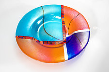 Kyoto Bowl by Varda Avnisan (Art Glass Bowl)