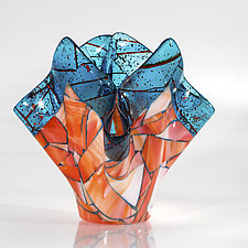 Marrakech Vase by Varda Avnisan (Art Glass Vase)