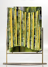A Forest in Maine by Varda Avnisan (Art Glass Sculpture)