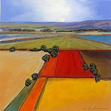 Open Fields 1 by Don Bradshaw (Giclee Print)