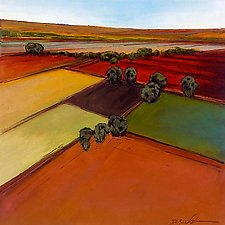 Open Fields 2 by Don Bradshaw (Giclee Print)