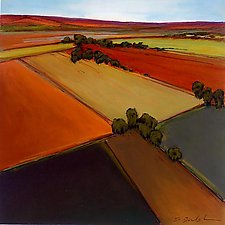 Open Fields 3 by Don Bradshaw (Giclee Print)