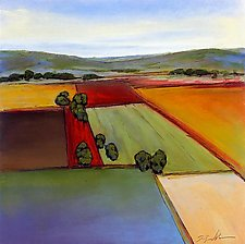 Open Fields 4 by Don Bradshaw (Giclee Print)