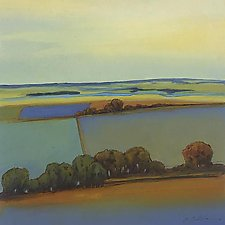 Cool Morning 1 by Don Bradshaw (Giclee Print)