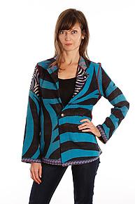Simple Jacket #5 by Mieko Mintz  (Size M (10-12), One of a Kind Jacket)