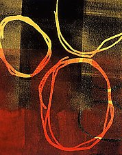 Circles 1 by Mary Margaret Briggs (Giclee Print)