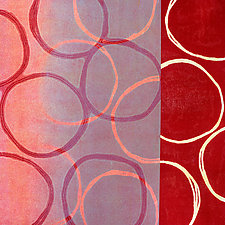 Circles 19 by Mary Margaret Briggs (Giclee Print)