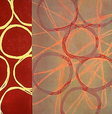 Circles 20 by Mary Margaret Briggs (Giclee Print)