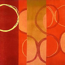 Circles 21 by Mary Margaret Briggs (Giclee Print)