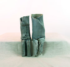 Belly Button Group #5 by Loren Yagoda (Ceramic Sculpture)