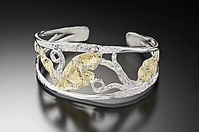 Gate Bracelet by Louise Norrell (Gold & Silver Bracelet)