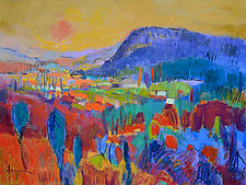 Land of Plenty X by Dorothy Fagan (Oil Painting)