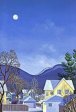 Pajama Street by Wynn Yarrow (Giclee Print)