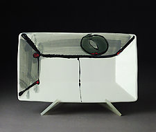 Rectangle Dish by Michael  Kifer (Ceramic Tray)