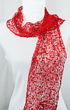Threadwork Scarf 521 by Andi Shannon  (Stitched Scarf)