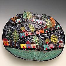 Valencia by Lilia Venier (Ceramic Platter)