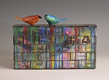 Duet by Patty Carmody Smith (Mixed-Media Sculpture)