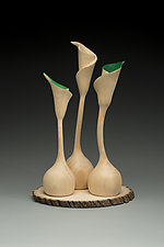 New Growth by Marceil DeLacy (Wood Sculpture)