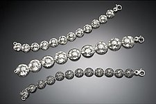 Disk Bracelets by Molly Strader (Silver Bracelet)