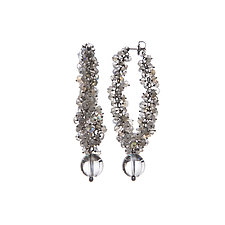 Luna Dangle Earrings by Michelle Pajak-Reynolds (Silver & Stone Earrings)