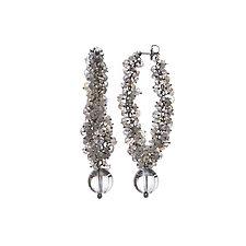 Luna Dangle Earrings by Michelle Pajak-Reynolds (Silver & Stone Earrings)