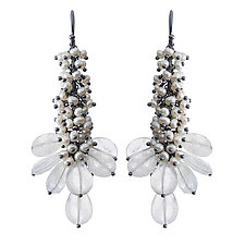 Asana Earrings by Michelle Pajak-Reynolds (Silver & Stone Earrings)