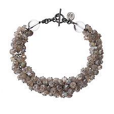 Luna Bracelet by Michelle Pajak-Reynolds (Silver & Stone Bracelet)