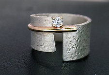 Beautiful Ring by Dagmara Costello (Gold, Silver & Stone Ring)