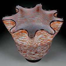 Zymovi Yahody (Winter Berries) by Eric Bladholm (Art Glass Vessel)