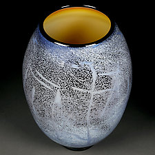 Celestial Celebration by Eric Bladholm (Art Glass Vessel)