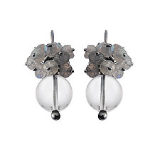Luna Drop Earrings by Michelle Pajak-Reynolds (Silver & Stone Earrings)