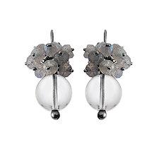 Luna Drop Earrings by Michelle Pajak-Reynolds (Silver & Stone Earrings)
