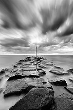 Artifact by Geoffrey Agrons (Black & White Photograph)