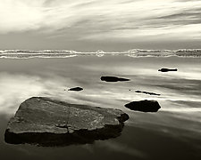 Six Stones by Geoffrey Agrons (Black & White Photograph)