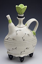 Loose Leaf Tea by Laura Peery (Ceramic Teapot)