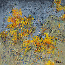 Autumn Flurry by Nancy Eckels (Acrylic Painting)