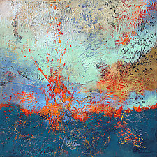 Burst by Nancy Eckels (Acrylic Painting)