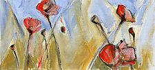 Small Poppy Field by Denise Souza Finney (Acrylic Painting)