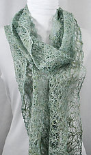 Threadwork Scarf 562 by Andi Shannon  (Stitched Scarf)
