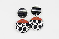 Vicki Earrings by Klara Borbas (Polymer Clay Earrings)