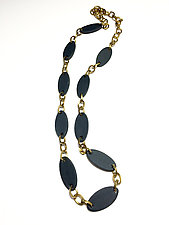 Ellipse Statement Necklace by Syra Gomez (Ceramic Necklace)